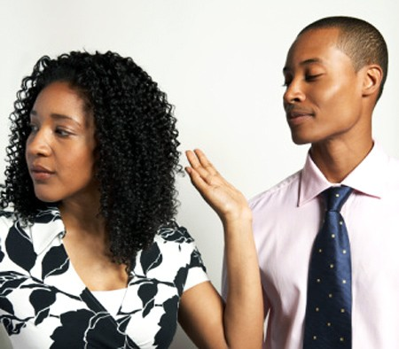 black woman tired of hearing black man lie