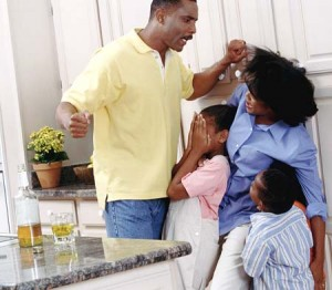black man domestic-violence-physical-abuse