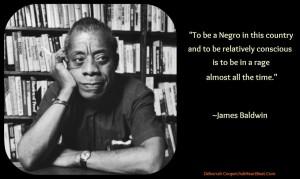 James Baldwin Rage