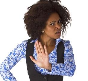 Black women saying no