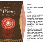 Do Single Moms Deserve Father's Day Cards if Dad Isn't Doing His Job?