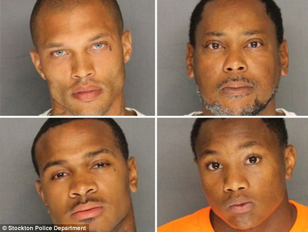 Jeremy Weeks and friends arrested in Stockton