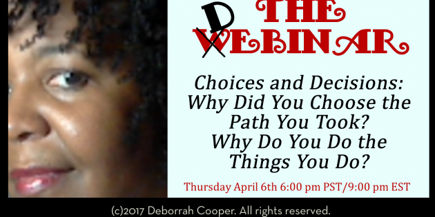 "Join Me for the First ""Debinar"" on Better Understanding Yourself"